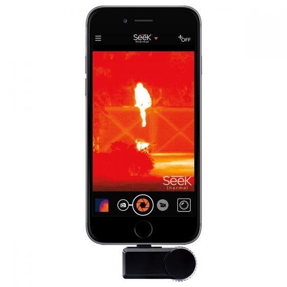 Seek Thermal Compact XR iOS Camera Black