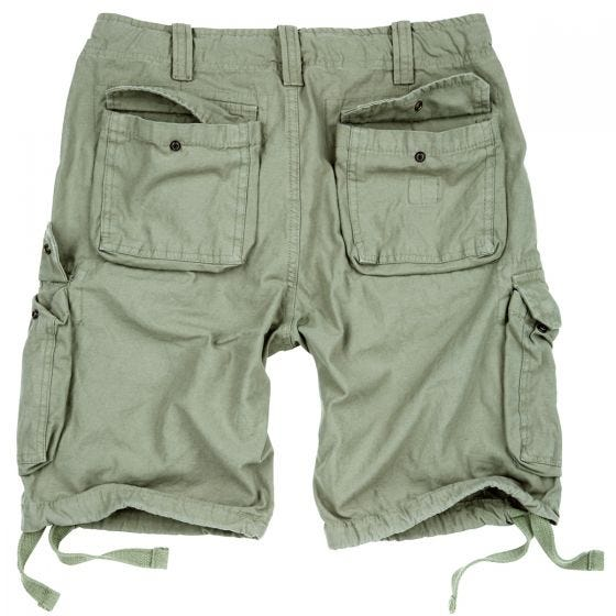 Surplus Airborne Vintage Shorts Light Olive