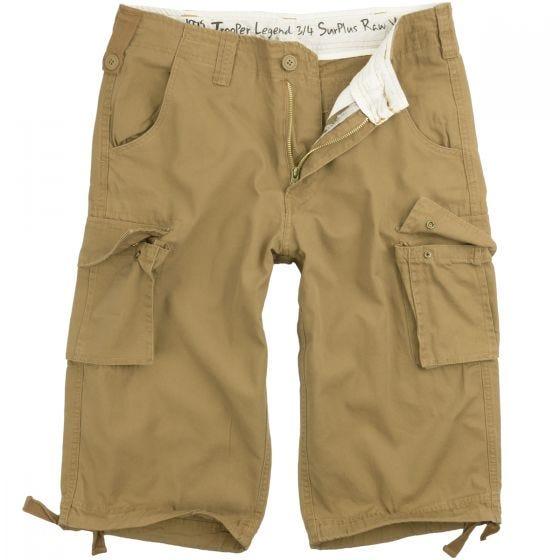 Surplus Trooper Legend 3/4 Shorts Beige Washed