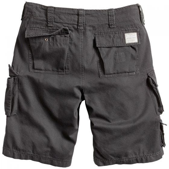 Surplus Trooper Shorts Black Washed