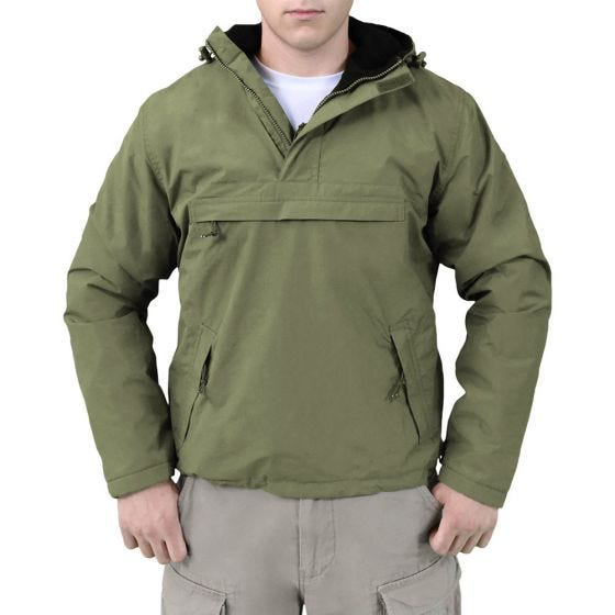 Surplus Windbreaker Jacket Olive