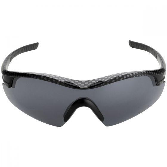 Swiss Eye Sunglasses Novena - 3 Lenses / Carbon Matt Black Frame