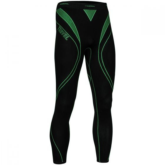 Tervel Optiline Running Leggings Black / Green