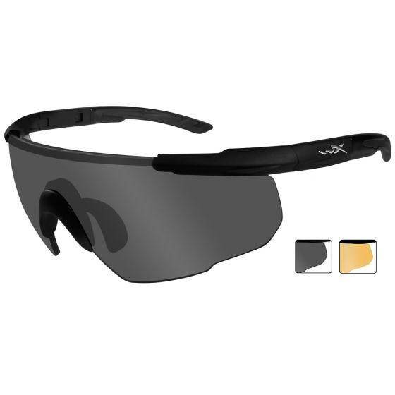 Wiley X Saber Advanced - Smoke Grey + Light Rust Lens / Matte Black Frame
