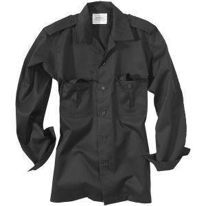 Surplus US Shirt Long Sleeve Black