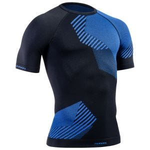 Tervel Optiline Shirt Short Sleeve Black/Blue