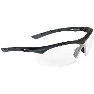 Swiss Eye Lancer Sunglasses - Clear Lens / Black Rubber Frame