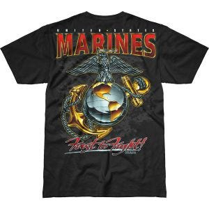 7.62 Design USMC Eagle, Globe & Anchor Battlespace T-Shirt Black