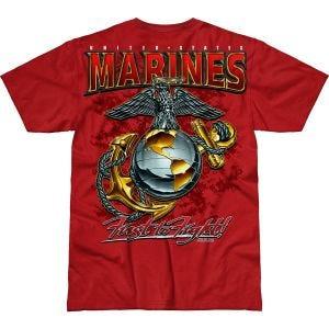 7.62 Design USMC Eagle, Globe & Anchor Battlespace T-Shirt Scarlet