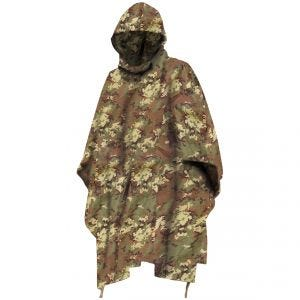 Waterproof Poncho Ripstop Vegetato Woodland