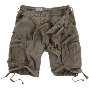 Surplus Airborne Vintage Shorts Washed Olive