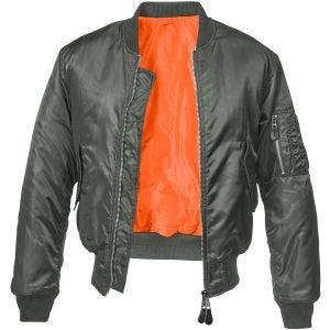 Brandit MA1 Jacket Anthracite
