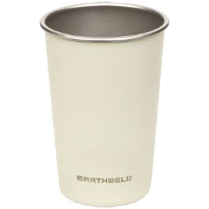 Earthwell Single Wall Steel Cup 473ml Baja Sand