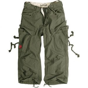 Surplus Engineer Vintage 3/4 Shorts Olive