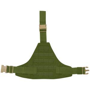 Flyye Triangular Leg Panel MOLLE Olive Drab