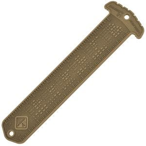Hazard 4 Cheatstick #1 Ruler / Morse MOLLE Patch Coyote