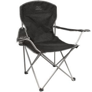 Highlander Folding Camp Chair Black
