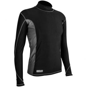 Highlander Men's Pro Comp Long Sleeve Top Black / Grey