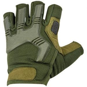 Highlander Raptor Fingerless Gloves Olive Green