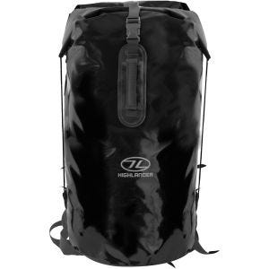 Highlander Troon Drybag 70L Duffle Bag Black