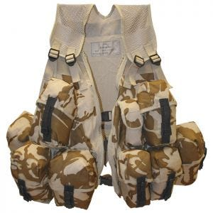Highlander Infantry Assault Vest Spanish Clips DPM Desert