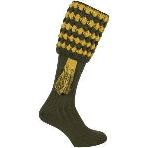 Jack Pyke Pebble Shooting Socks Green