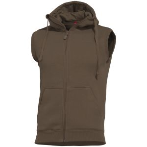 Pentagon Thespis Sweater Vest Terra Brown
