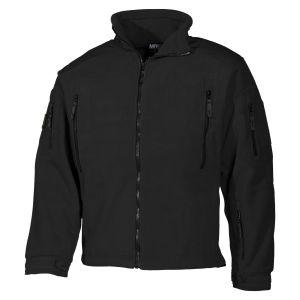 MFH Heavy Strike Fleece Jacket Black