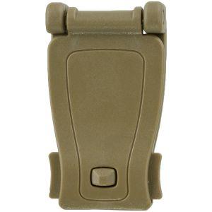MFH Plastic MOLLE Adapter Clip Coyote Tan