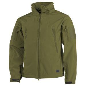 MFH Scorpion Soft Shell Jacket OD Green