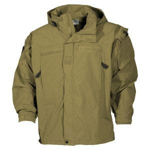 MFH US Soft Shell Jacket Level 5 Coyote Tan