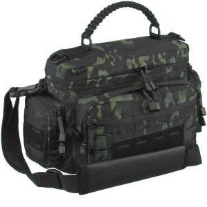 Mil-Tec Tactical Paracord Bag Small Multitarn Black