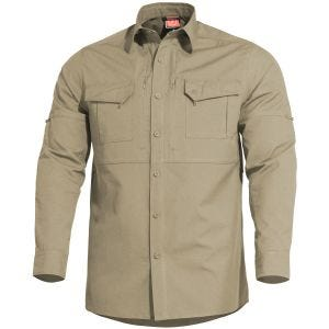 9fac4230e993a Quick View Pentagon Plato Tactical Shirt Khaki