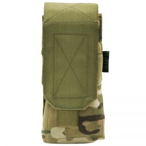Pro-Force Single M4/M16 Magazine Pouch MOLLE MultiCam
