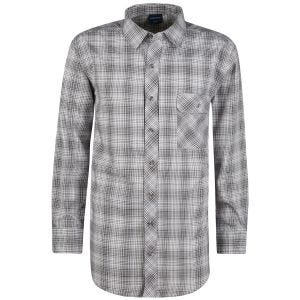 Propper Covert Button-Up Long Sleeve Shirt Steel Grey Plaid