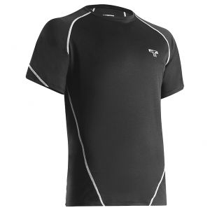 Tervel Sportline Strong ESM-01 Shirt Short Sleeve Black