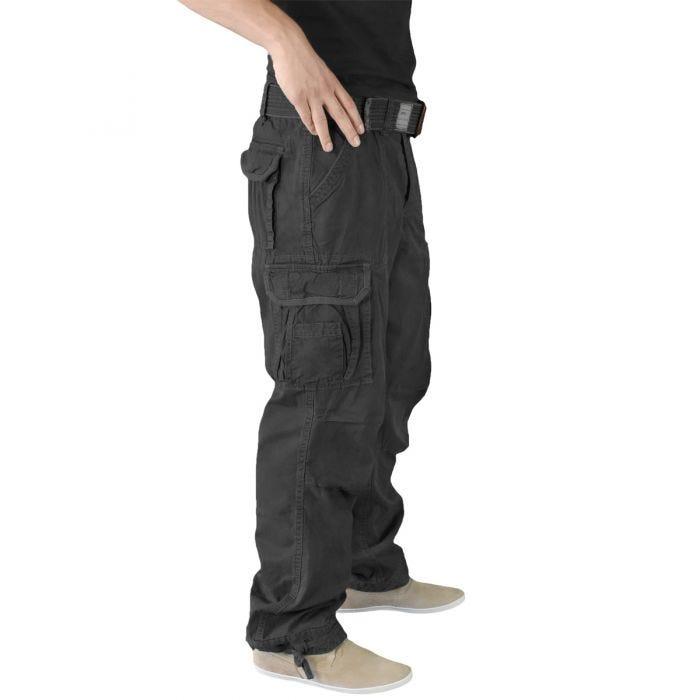 Surplus Premium Vintage Trousers Black