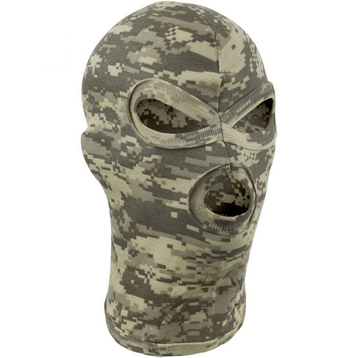 MFH 3 Hole Balaclava Lightweight Cotton ACU Digital