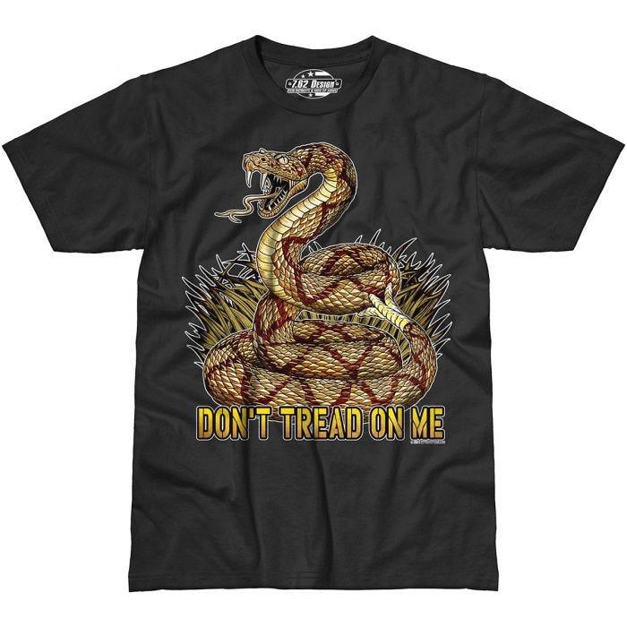7.62 Design Don't Tread On Me T-Shirt Black