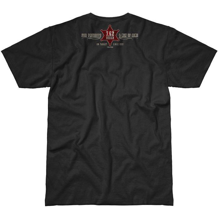 7.62 Design Gun Control T-Shirt Black