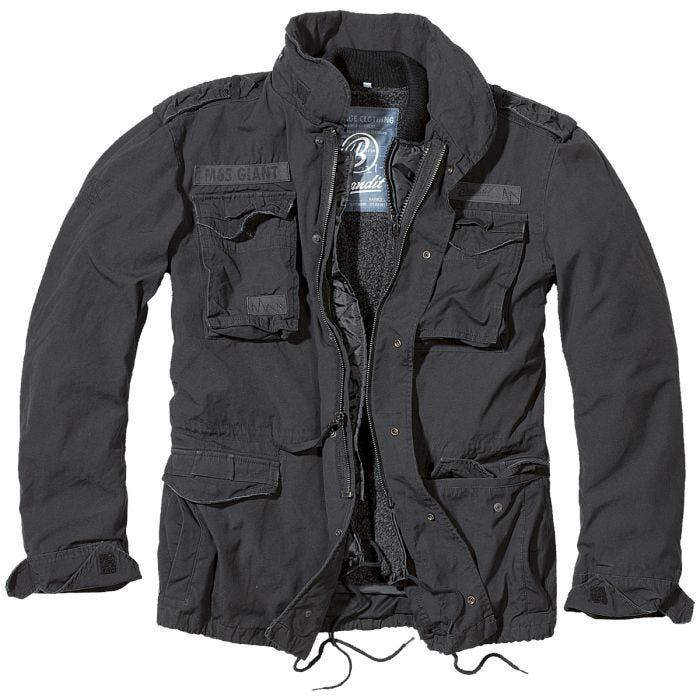 Brandit M-65 Giant Jacket Black