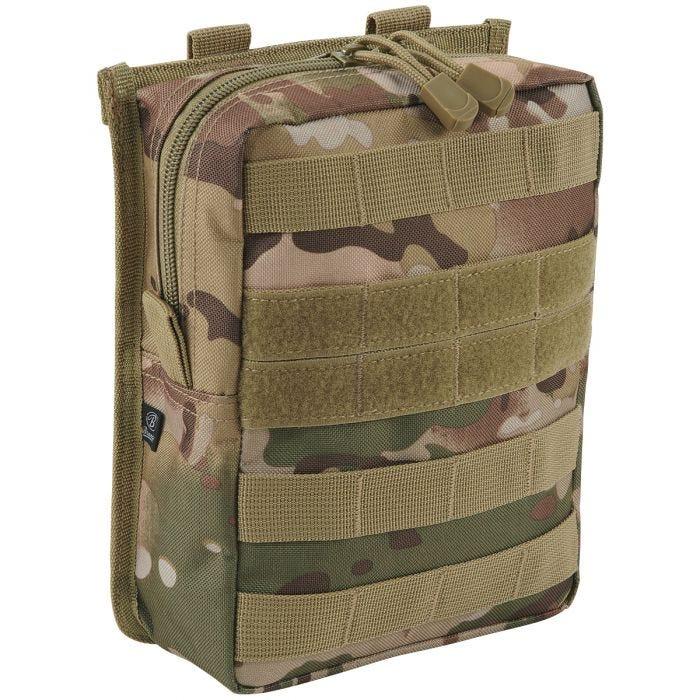 Brandit Cross MOLLE Pouch Tactical Camo