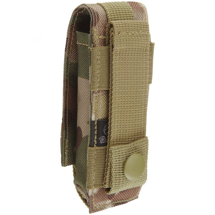 Brandit MOLLE Multi Pouch Small Tactical Camo