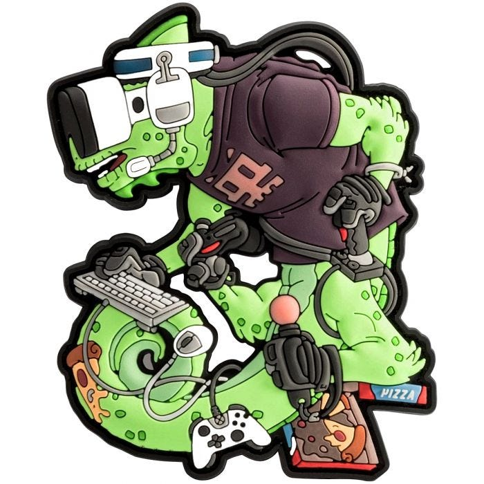 Helikon Chameleon Gamer Operator Patch Green