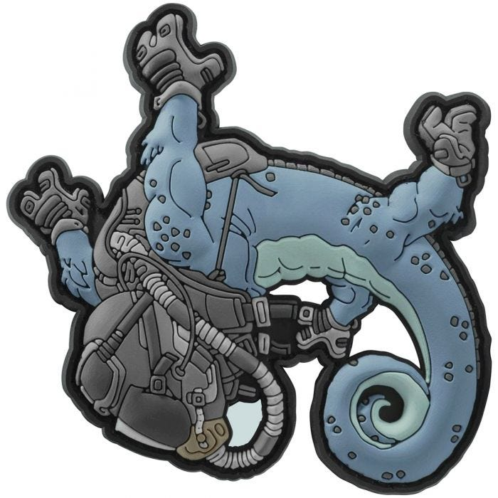 Helikon Halo Chameleon Patch Blue/Black