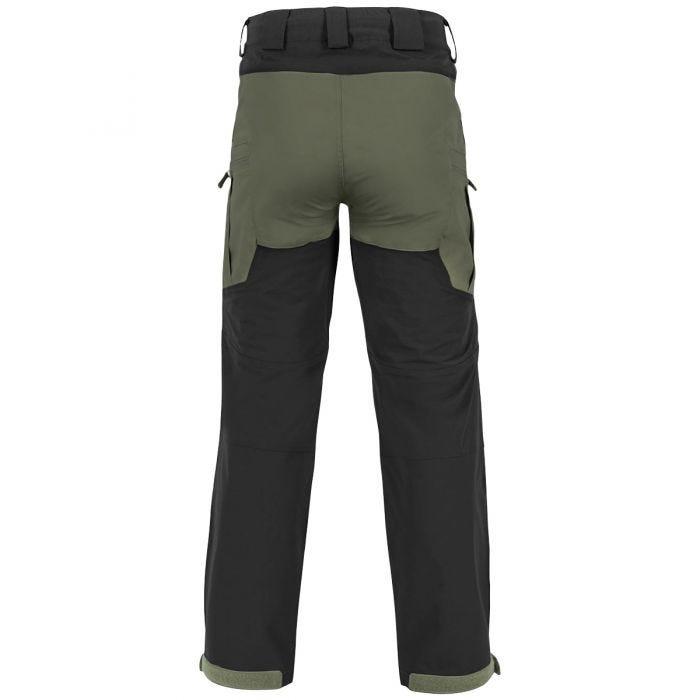 Helikon Hybrid Outback Pants DuraCanvas Taiga Green / Black