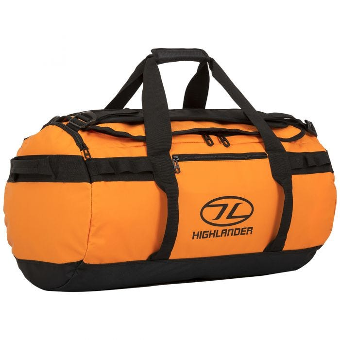 Highlander Storm Kitbag 30L Orange