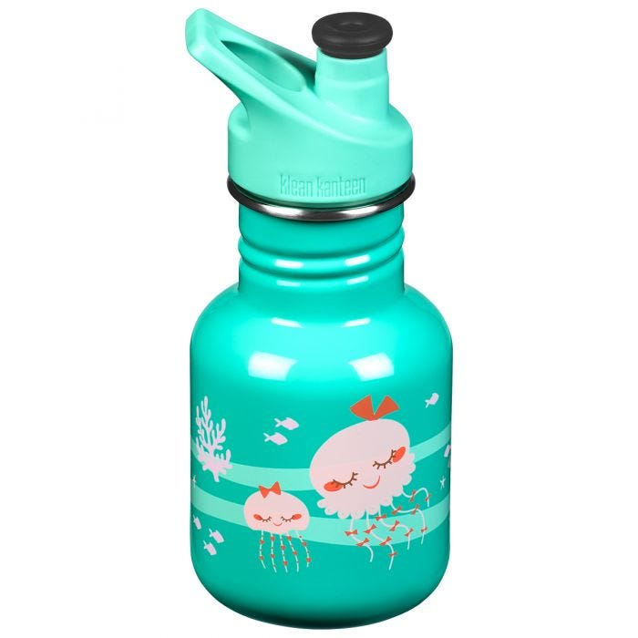 Klean Kanteen Kid Sport 355ml Bottle Sport Cap 3.0 Jellyfish