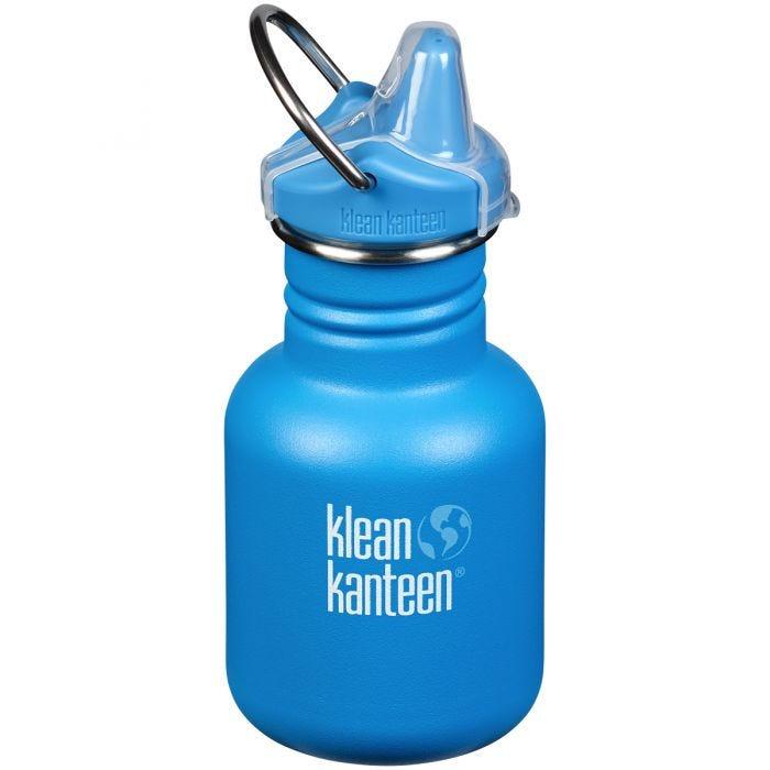 Klean Kanteen Kid Kanteen 355ml Bottle Sippy Cap Pool Party