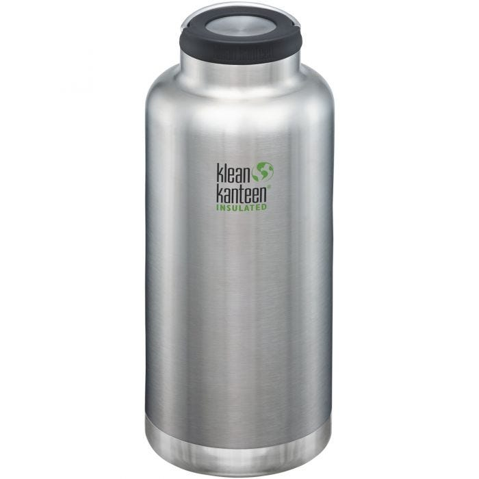 Klean Kanteen TKWide 1900ml Insulated Bottle Loop Cap Brushed Stainless